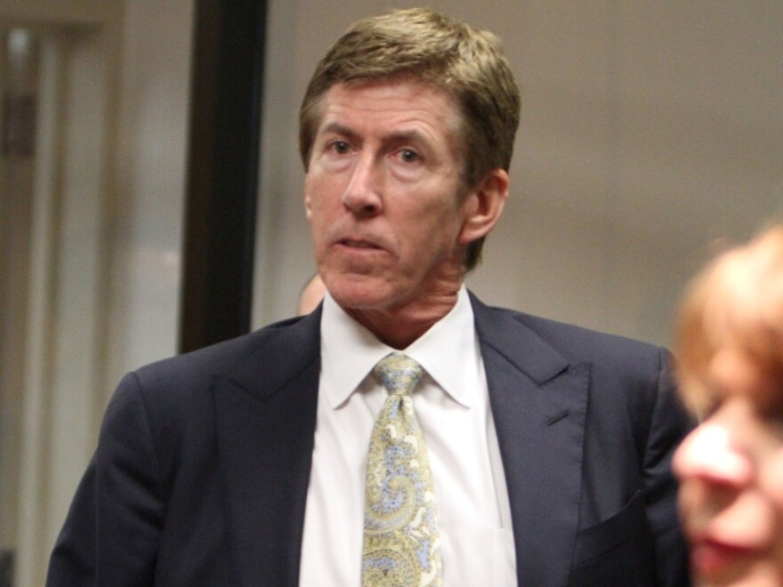 Attorney Mark O'Mara during George Zimmerman's court hearing on April 12, in Sanford, Fla.