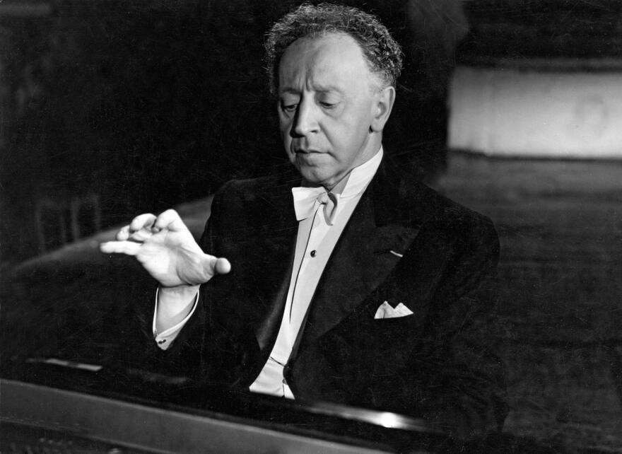 Arthur Rubinstein at Carnegie Hall