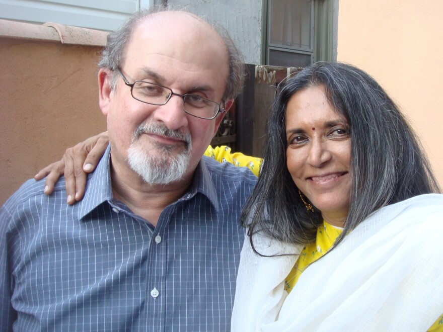 Mehta and Rushdie, both Indian-born expatriate artists acclaimed in their disciplines, share an appetite for lyrical, vividly colorful storytelling.