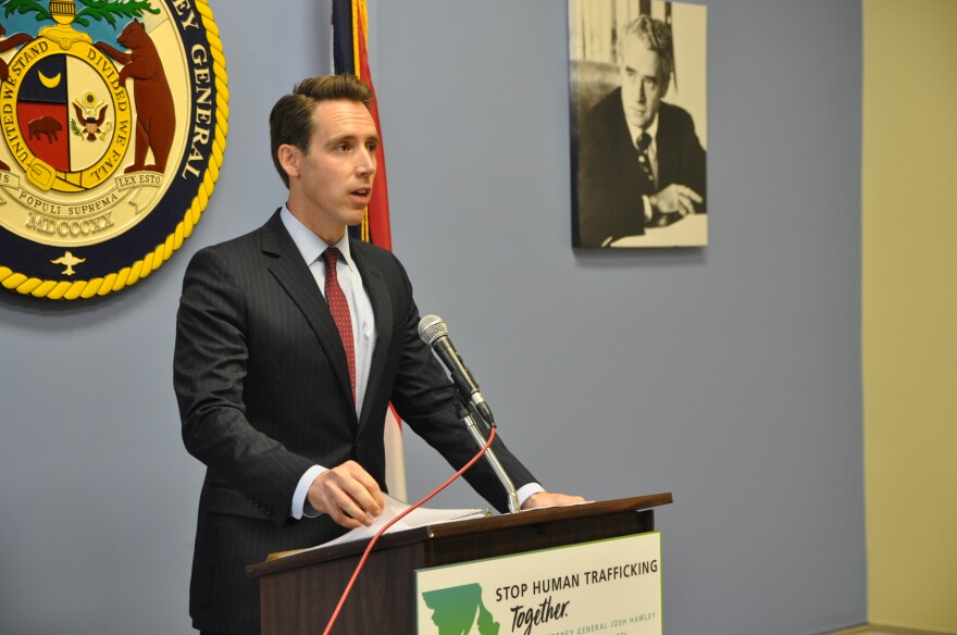 Missouri Attorney General Josh Hawley shares evidence included in a motion to dismiss Backpage's lawsuit against him.