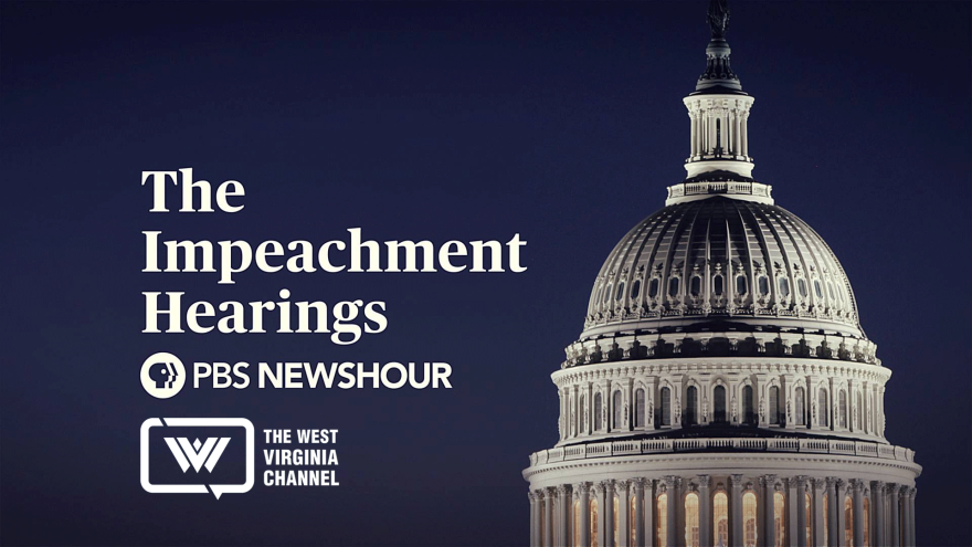 A graphic for the Impeachment Hearing Live Coverage
