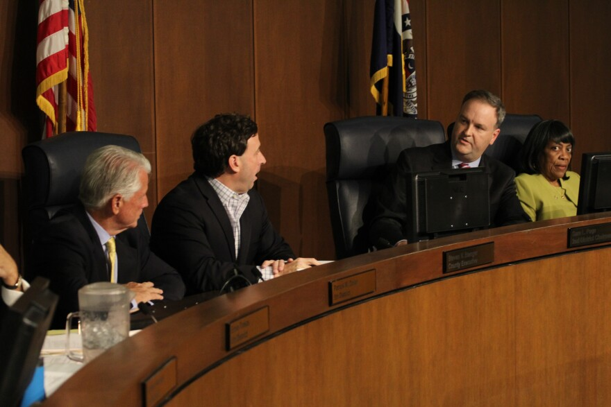 With elections looming, tensions continue between the St. Louis County Council and County Executive Stenger.