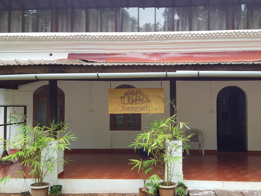 The headquarters of Sangath, a nonprofit health care organization in Goa, India. Its staff is training nonprofessionals to deliver mental health care.
