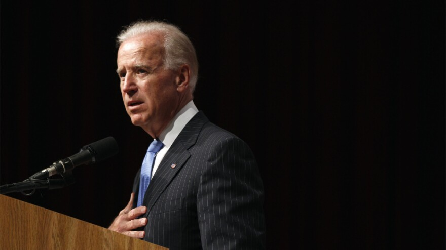 "Vice President Biden defends the administration's foreign policy --€"" and questions Mitt Romney's ideas — on Thursday at New York University."