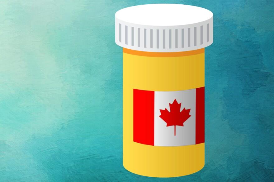 Canada Drug Illustration