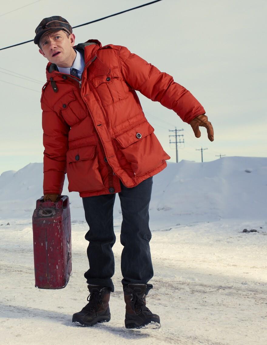 Martin Freeman co-stars in FX's <em>Fargo</em>.