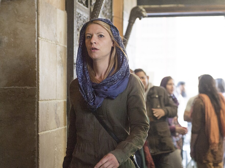 Claire Danes plays Carrie Mathison on <em>Homeland</em>, which aired its fourth season this fall.