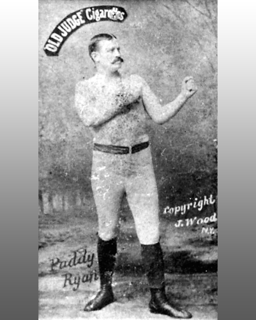 "Patrick ""Paddy"" Ryan was an Irish American boxer"