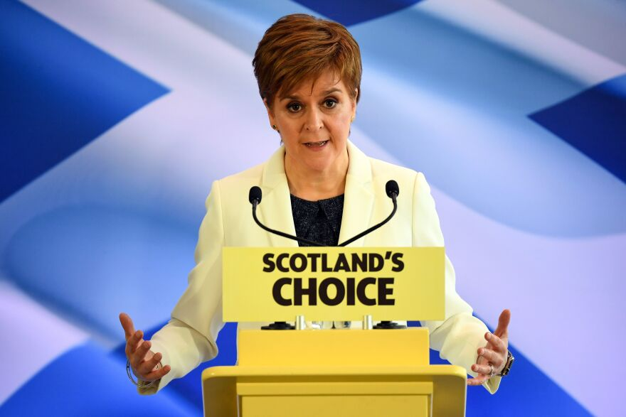 In Edinburgh on Friday, Scottish First Minister Nicola Sturgeon laid out the case that Brexit's political ramifications justify another independence referendum for Scotland, more than five years after voters narrowly decided to remain in the U.K.