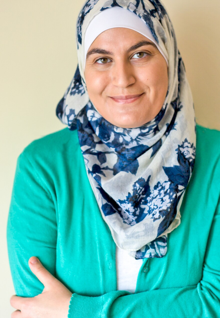 "Sawsan Abu Farha, a Palestinian-Jordanian food blogger known as ""Chef in Disguise,"" makes several versions of <em>maamoul, </em>usually<em> </em>to be served during Eid with Arabic coffee and chocolate."