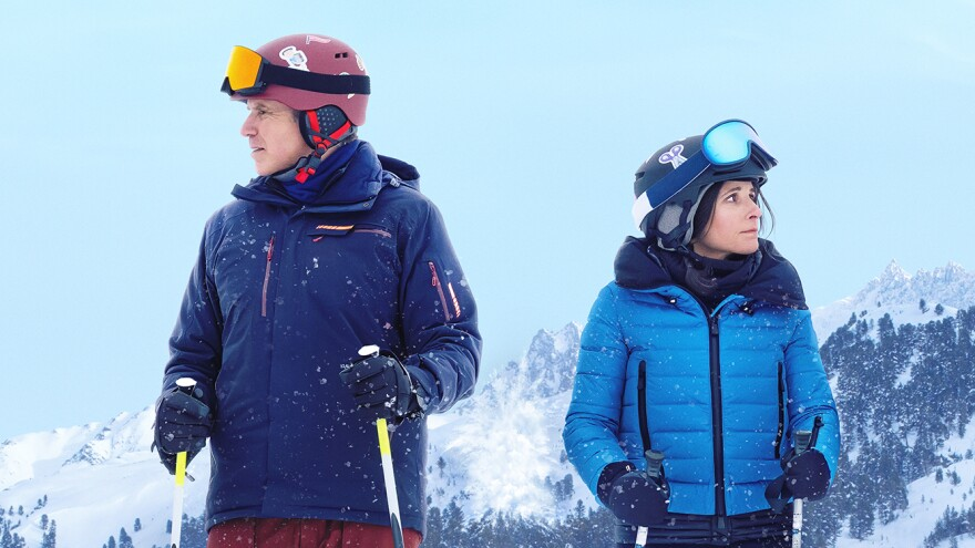Will Ferrell and Julia Louis-Dreyfus star in the new dark comedy <em>Downhill.</em>