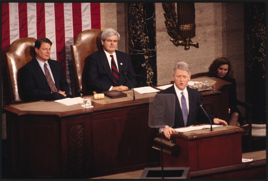 Clinton 1995 State of the Union