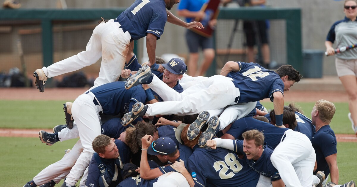 Wingate Baseball Wins D2 National Title, Knocking Off Top-Seeded Central Missouri