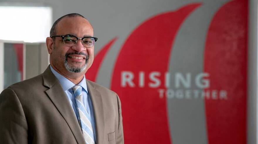 Alex Fennoy is the executive vice president of community and economic development for St. Louis-based Midwest BankCentre. The East St. Louis native wants to make sure that low-income populations have access to banking needs.
