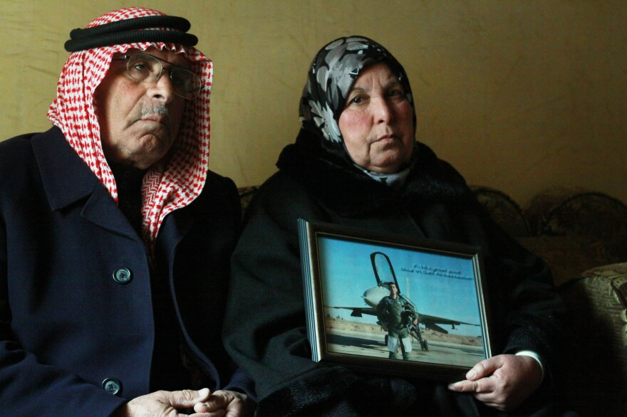 Safi al-Kasasbeh and his wife Isaaf are the parents of Moath al-Kasasbeh, the Jordanian air force pilot who was captured by the Islamic State in Syria and later killed by the group.