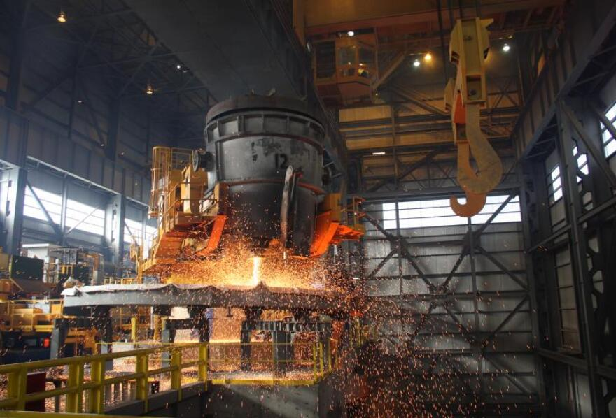 Steel production has been part of the middle class
