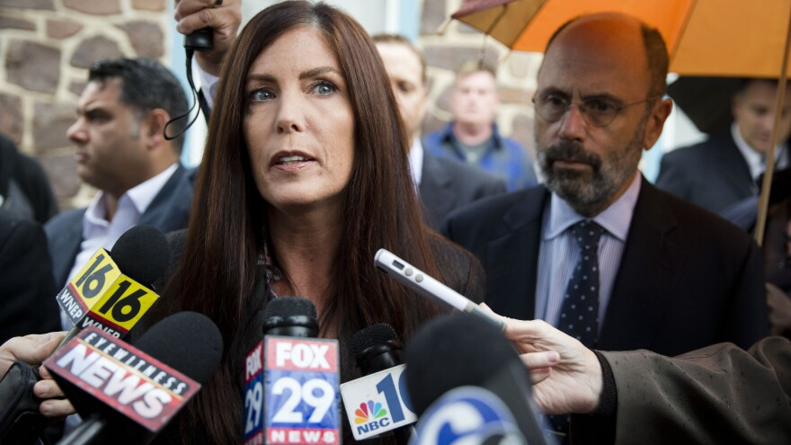 Facing perjury charges and with her legal license suspended, Pennsylvania Attorney General Kathleen Kane is due in court Thursday to discuss her claim that a judge leaked grand jury information.