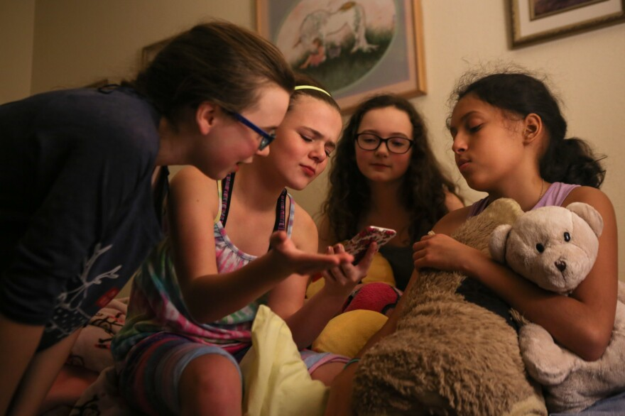 Lola attempts to maintain normalcy by hosting a slumber party on Nov. 4, 2016. Lola's increased maturity level made it difficult for her to connect with her peers, often leading to exclusion.
