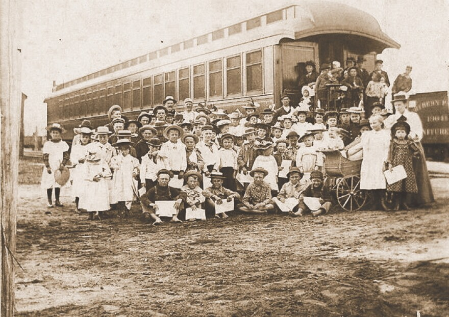 Between 1854 and 1929 over 250,000 orphans and unwanted children were put on trains in the overcrowded east and sent out to every state in the continental United States to find new homes.