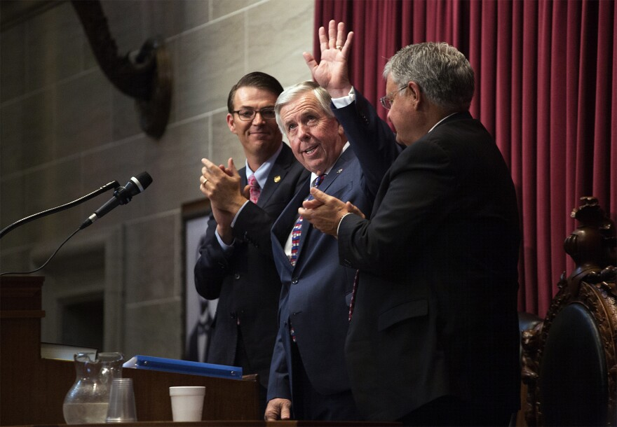 Missouri Gov. Mike Parson has put some of his political capital on the line to pass a gas tax increase on Tuesday.