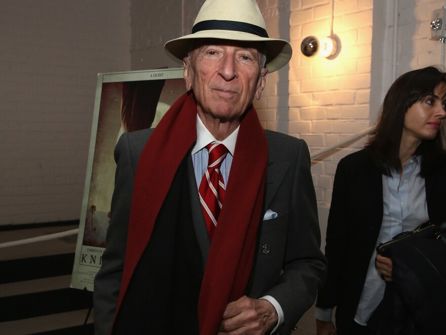 Gay Talese attends a movie screening in New York City this past February.