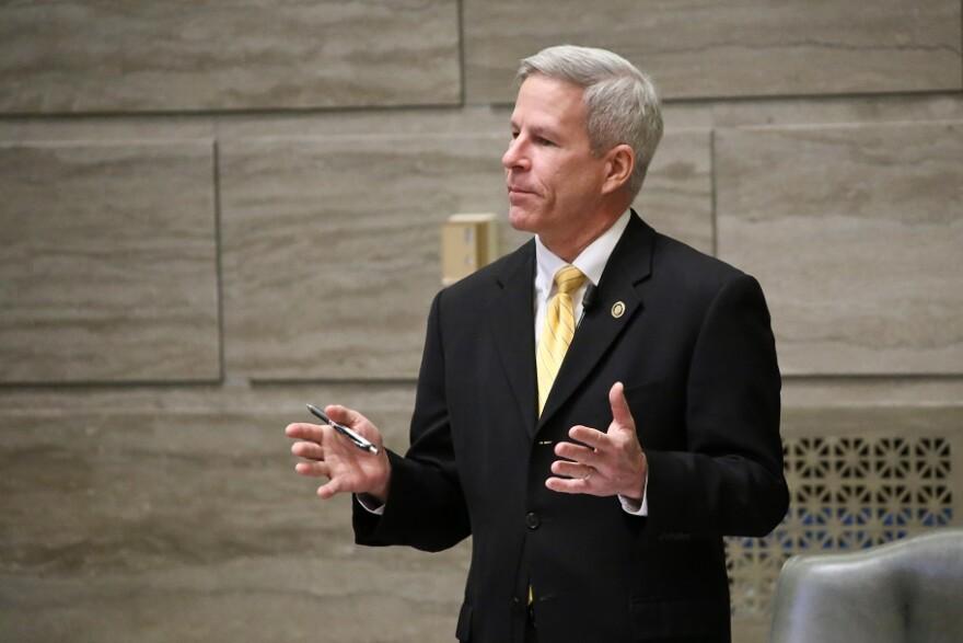 Republican Sen. Rob Schaaf, of St. Joseph, sponsored the Senate drug monitoring bill.
