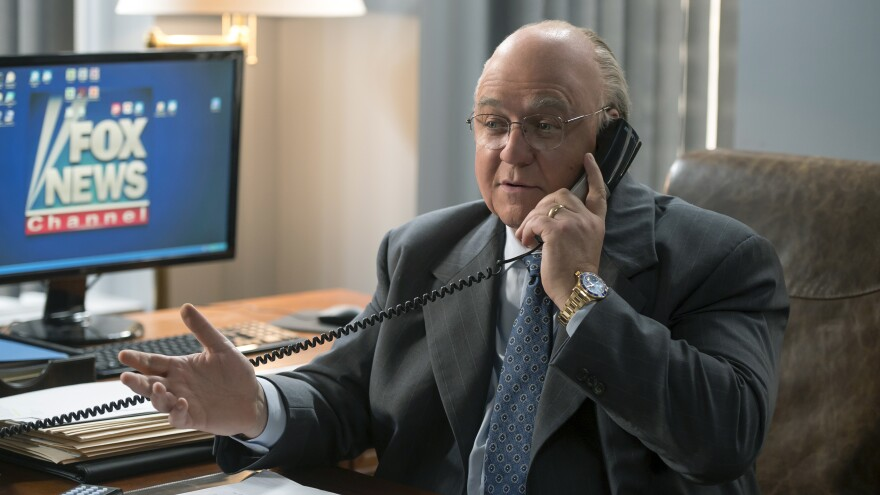 The seven-part Showtime series <em>The Loudest Voice</em> traces the rise and fall of Fox News chief Roger Ailes (Russell Crowe).