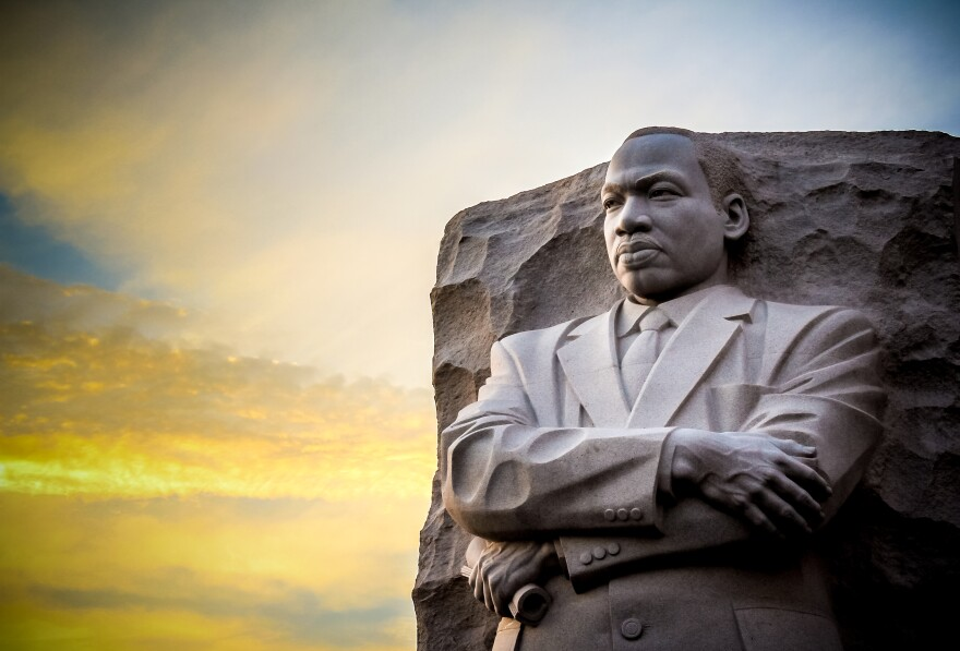 The national Martin Luther King, Jr. Memorial in Washington.