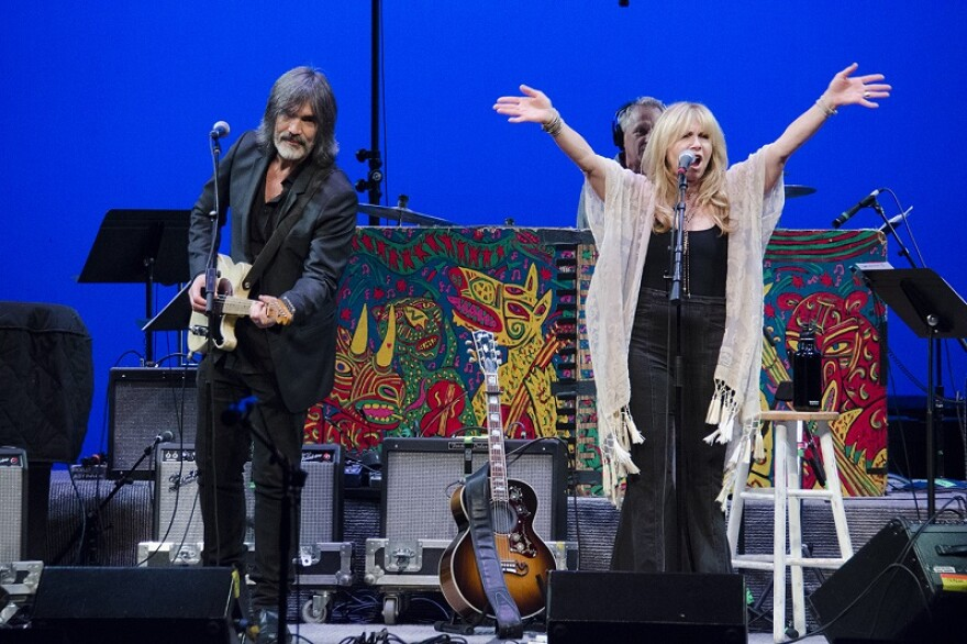 Larry Campbell & Teresa Williams performing on Mountain Stage, 2019