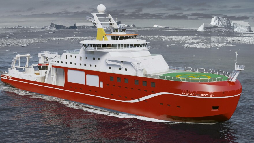 """After a spirited Internet response chose """"Boaty McBoatface"""" as the name for a research ship, Britain's science minister said a more suitable name was needed."""