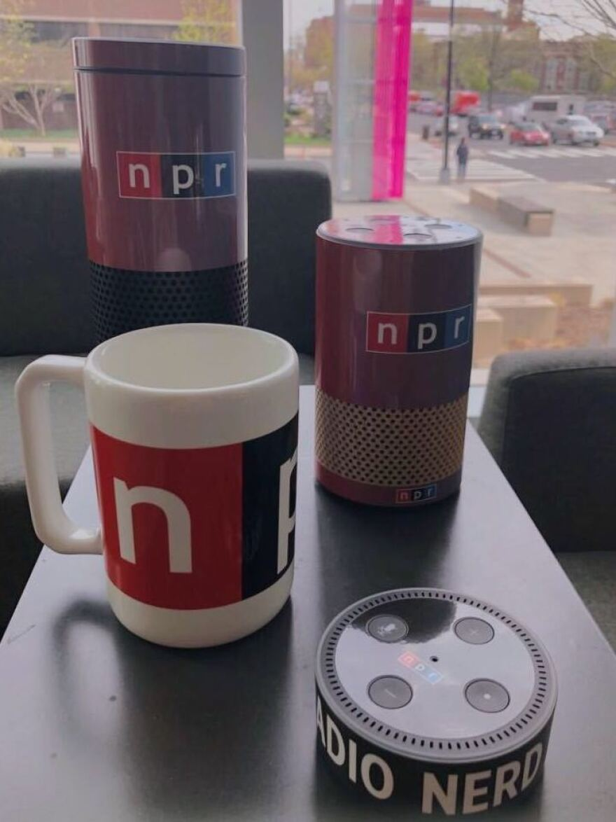 smart speakers with NPR wrap