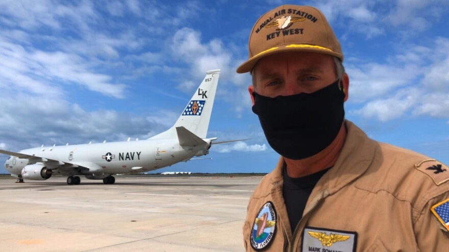 Capt. Mark Sohaney is the commanding officer at Naval Air Station Key West.