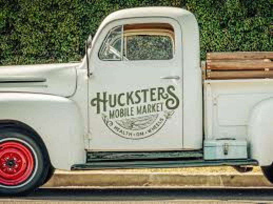 The Hucksters Mobile Market delivery truck