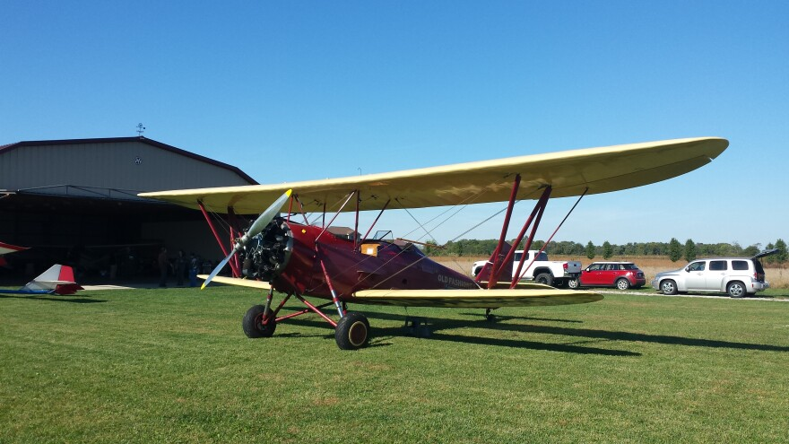 Some former farmland now serves as country air strips, primarily used for vintage planes.