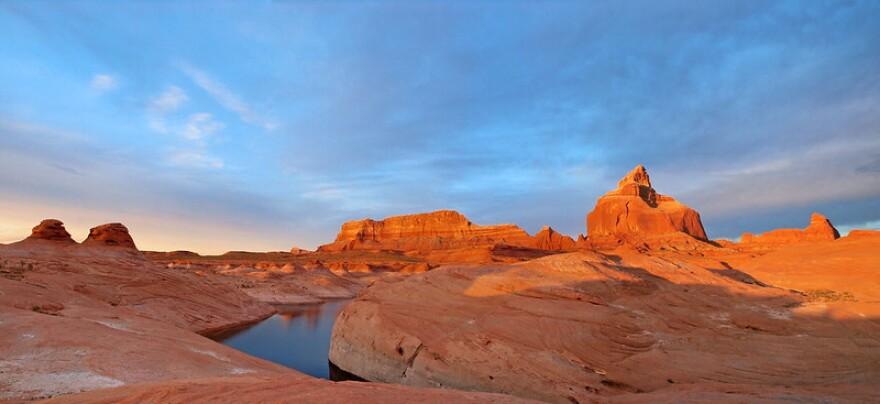 A photo of Labyrinth Canyon.