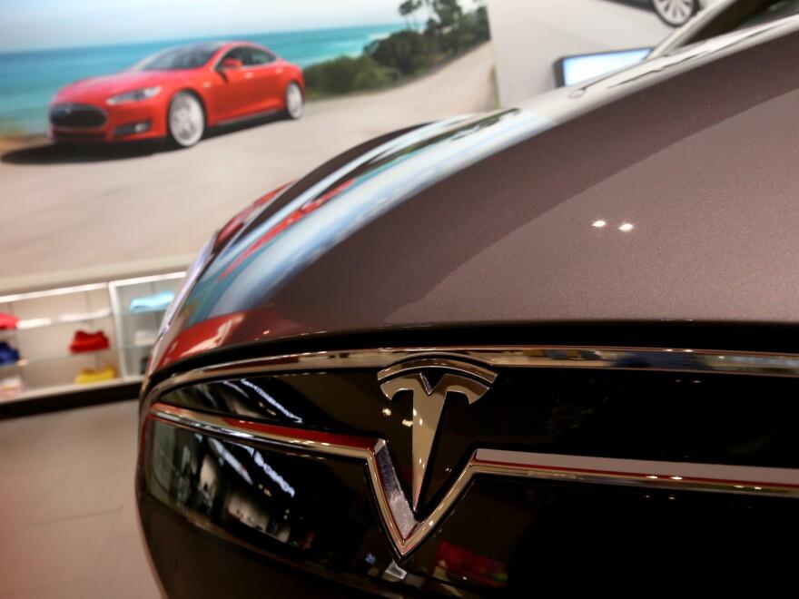 A Tesla Motors showroom in Miami.