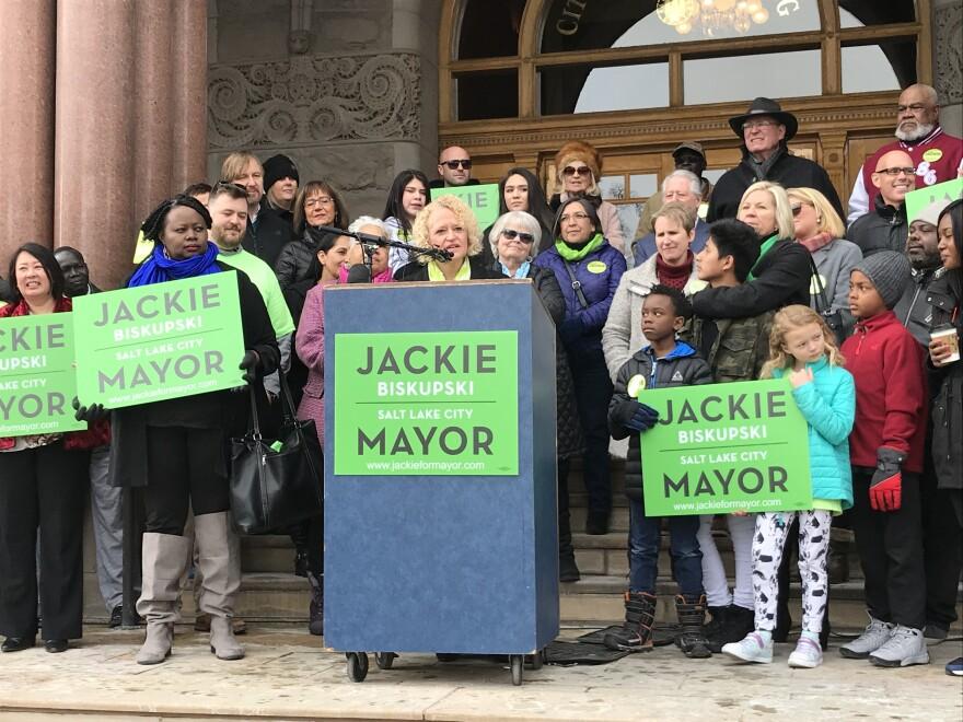 Mayor Jackie Biskupski