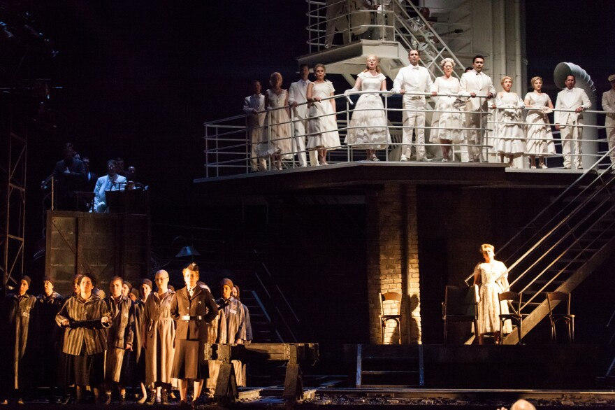 The action in <em>The Passenger</em> begins on the deck of a cruise ship, then ventures below deck as the characters' memories of the Holocaust surface.
