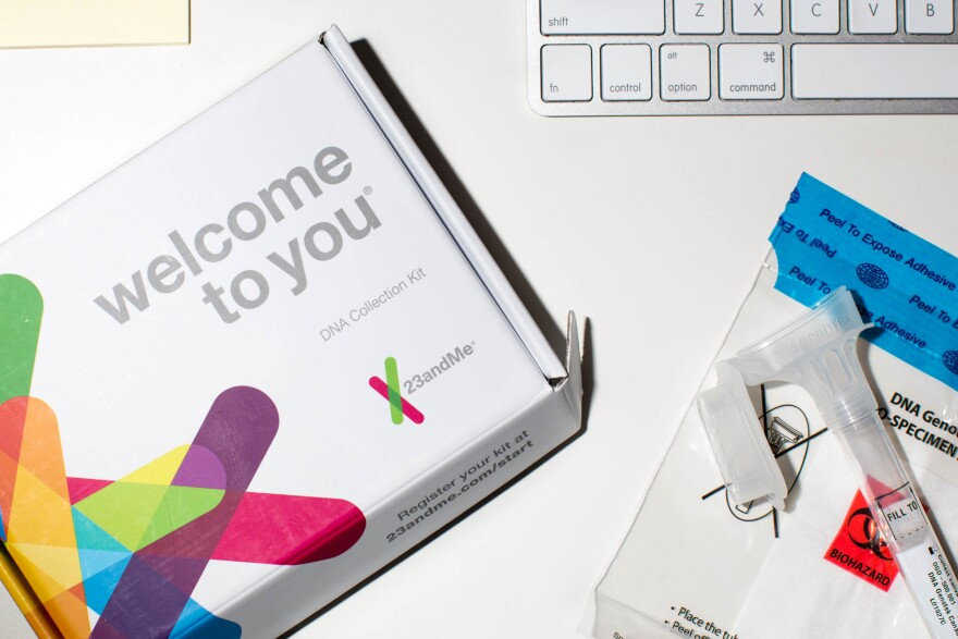 23andMe home testing kit