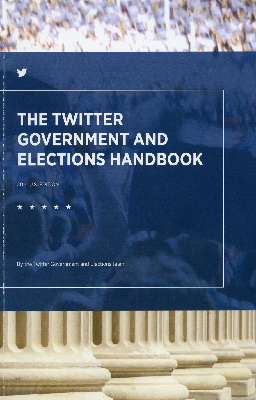 The cover of Twitter's manual for governments and elections.