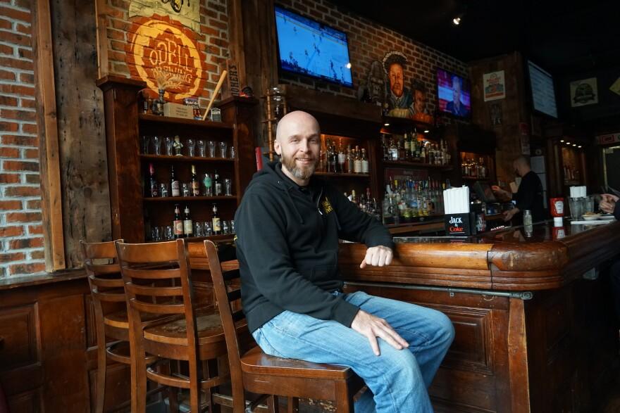 Nov. 19, 2018 Three Kings pub owner Ryan Pinkston at Loop location