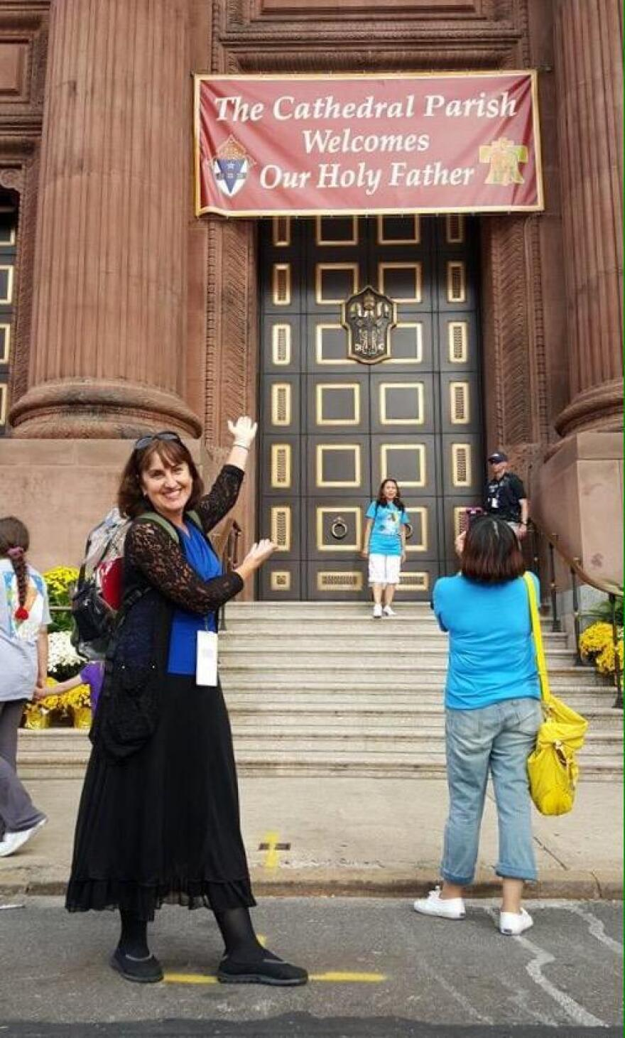 St. Louis-based author Alicia von Stamwitz said she was moved by the reasons some people in the crowds came to see Pope Francis in Philadelphia.