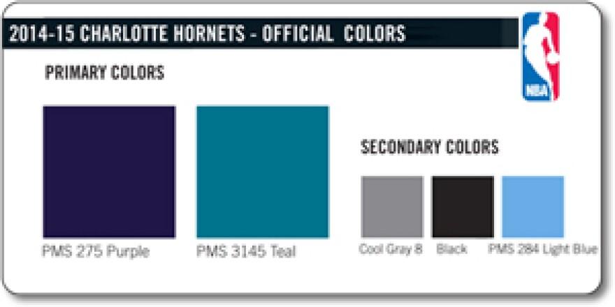 hornets colors 2014-15