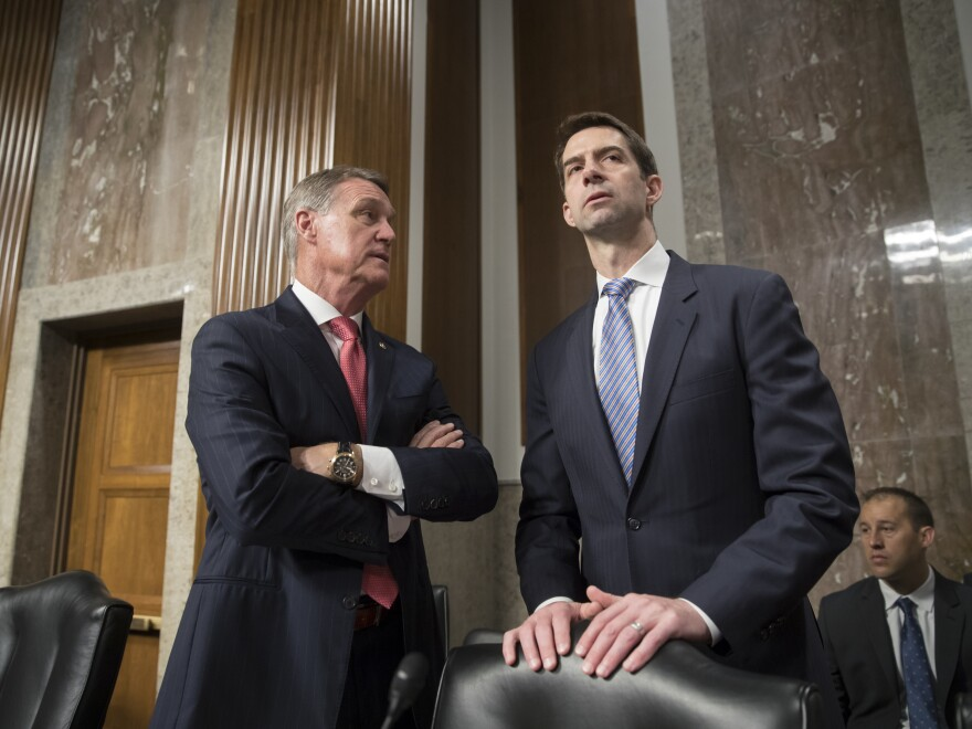 Legislation backed by Sens. David Perdue, R-Ga., and Tom Cotton, R-Ark., proposes cutting legal immigration by half.