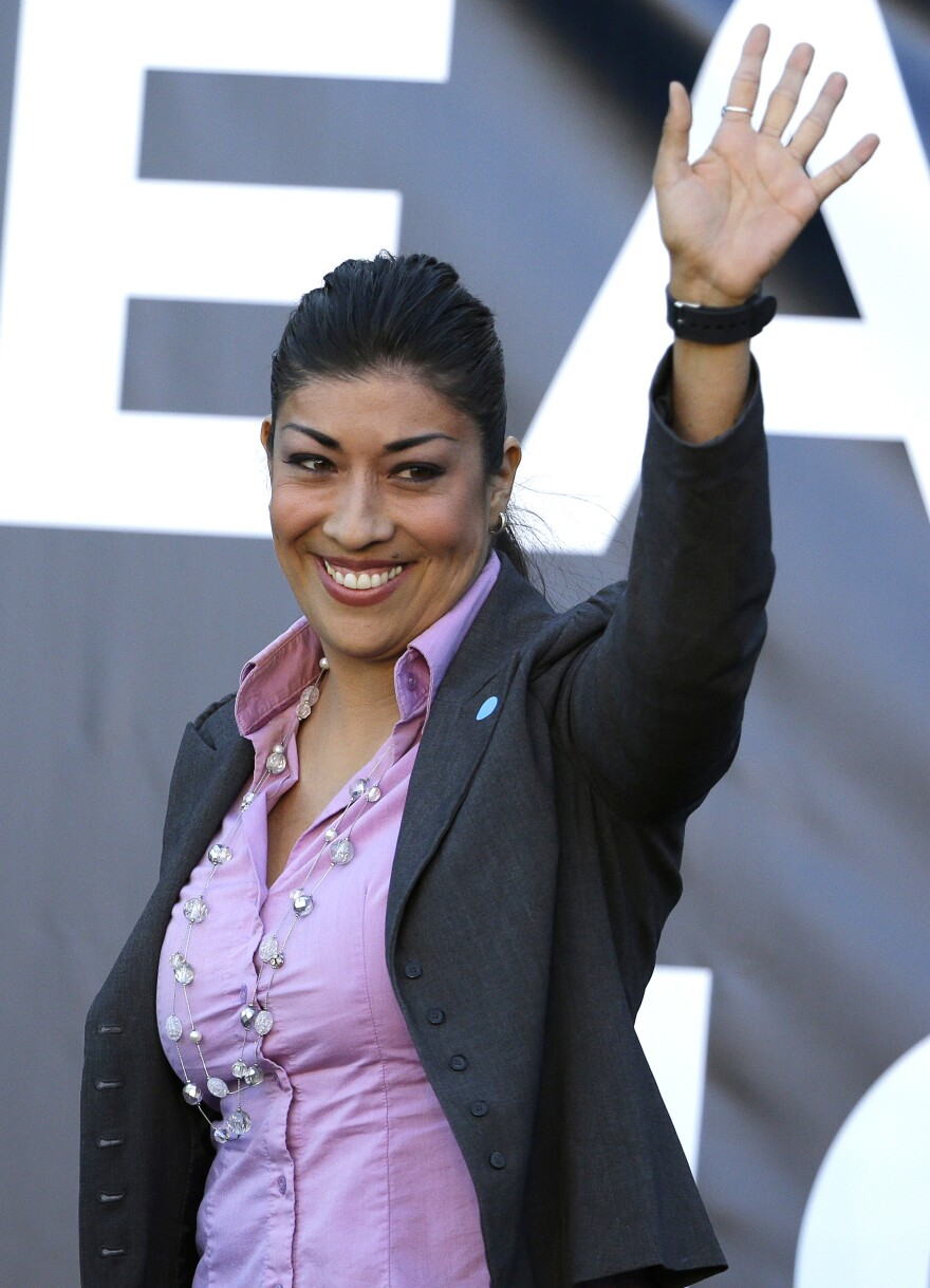 Lucy Flores has seen a significant uptick in donations once Bernie Sanders endorsed her bid for Congress