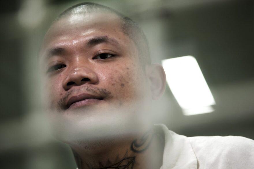 Chainnaron Soeurn at Hutchins State Jail on Aug. 15, 2018.