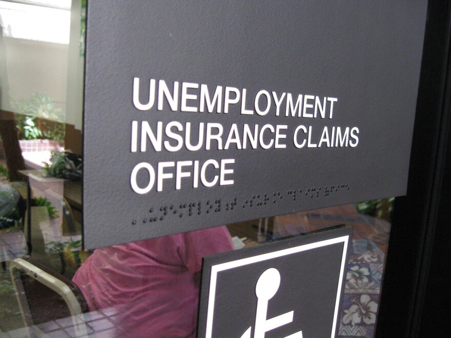 A photo of an unemployment office.