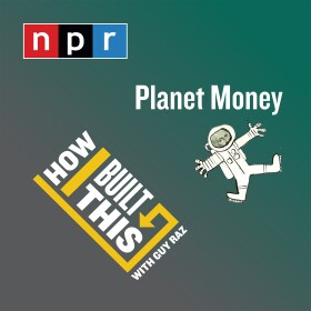 Planet Money and How I Built This logo