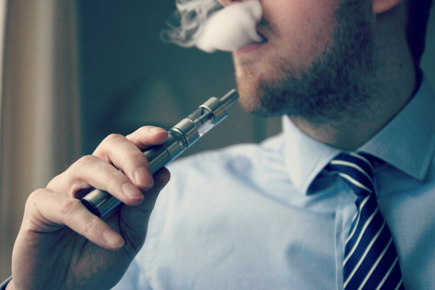 Florida law restricts the use of e-cigarettes or vaping products to people 18 or older, the same as the legal age for smoking tobacco. WIKIMEDIA COMMONS