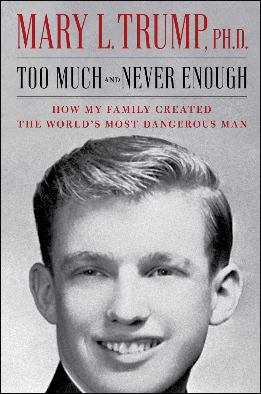 "<a href=""https://www.simonandschuster.com/books/Too-Much-and-Never-Enough/Mary-L-Trump/9781982141462"">Too Much and Never Enough</a>, by Mary Trump"